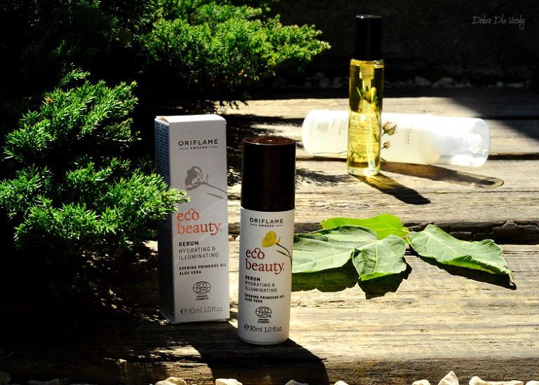 Naturalna pielęgnacja twarzy EcoBeauty Oriflame - serum do twarzy recenzja