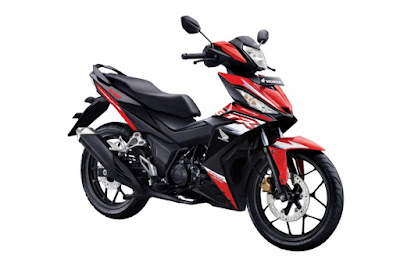 Honda Supra GTR150 - Red Black