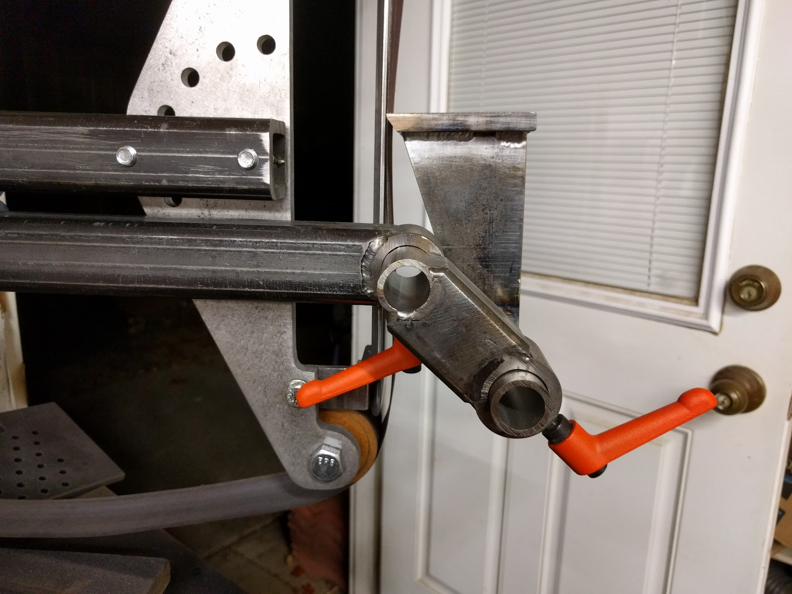 Experience Improve Make Belt Grinder Tool Rest And