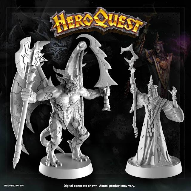 HeroQuest Hasbro 2020