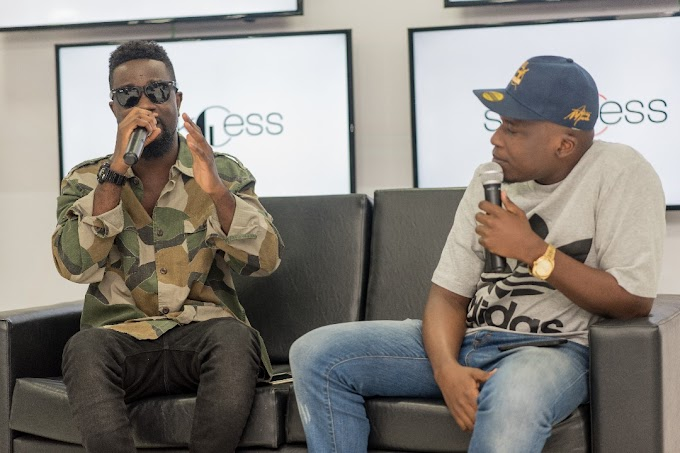 """Photos: Sarkodie holds Exclusive Album Listening +Video Screening Session for """"Highest"""""""