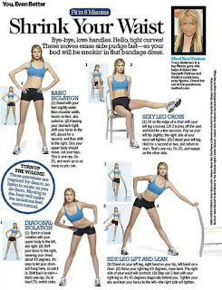Shrink Your Waist Exercises