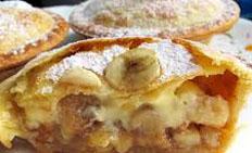 Resep praktis (mudah) kue pie pisang spesial (istimewa) enak, legit, sedap, nikmat lezat