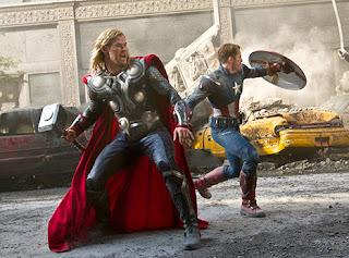 Thor & Captain America, Avengers Assemble