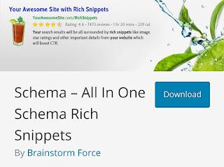 Plugin SEO WordPress All In One Schema Rich Snippet