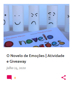 """Exploração do livro """"O novelo de emoções"""", com atividade e giveaway"""