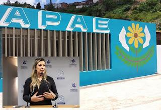 Proposta por Camila, Lei Estadual reconhece Apae de Areia como Associação de Utilidade Pública
