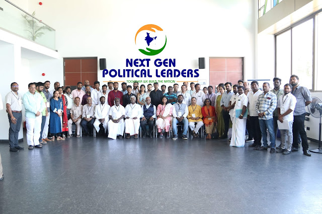 NGPL workshop on communication for young political leaders
