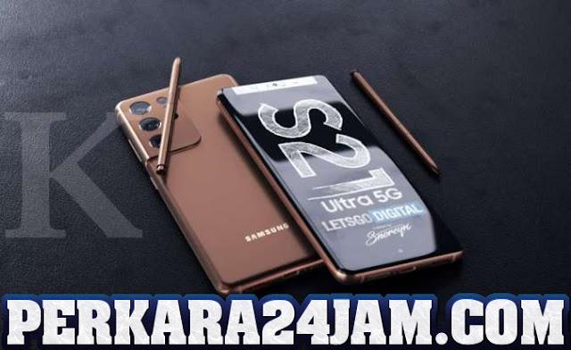 Smartphone Samsung Galaxy S21 hadir Dengan S Pen