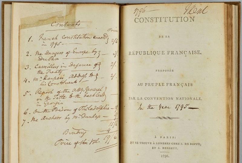 Constitucion del año III, de agosto de 1795