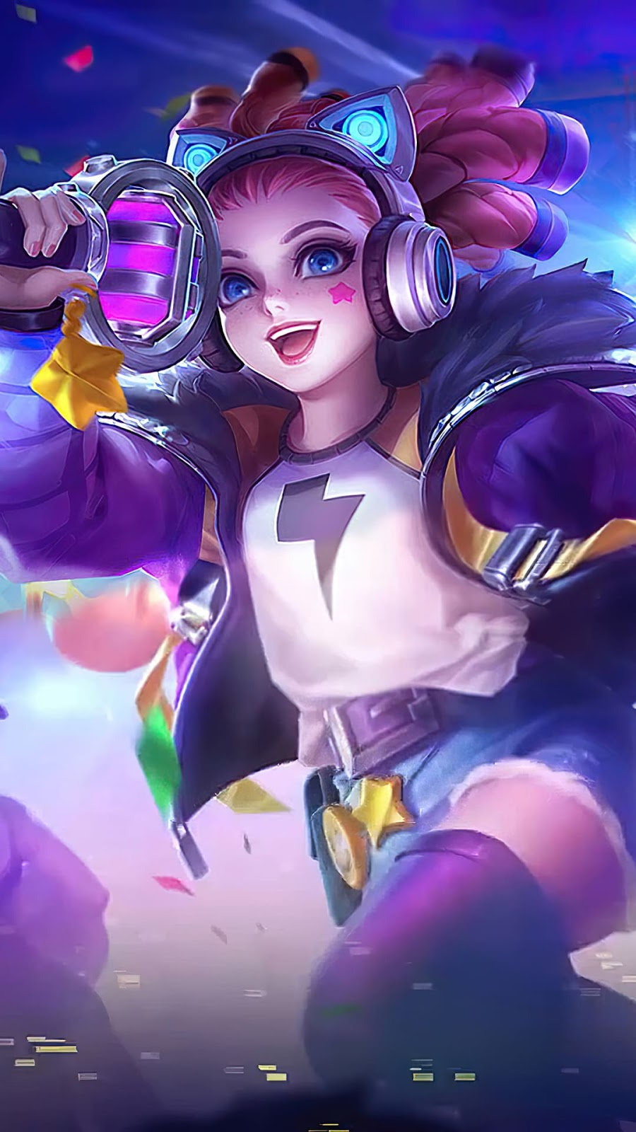 Wallpaper Lylia Future Star Skin Mobile Legends HD for Android and iOS