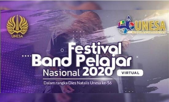 Festival Band Pelajar Tingkat Nasional 2020 by Unesa