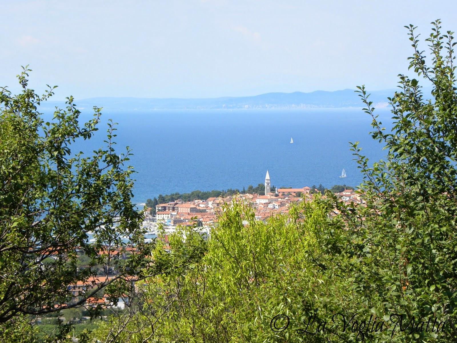 Isola d'Istria Slovenia panorama
