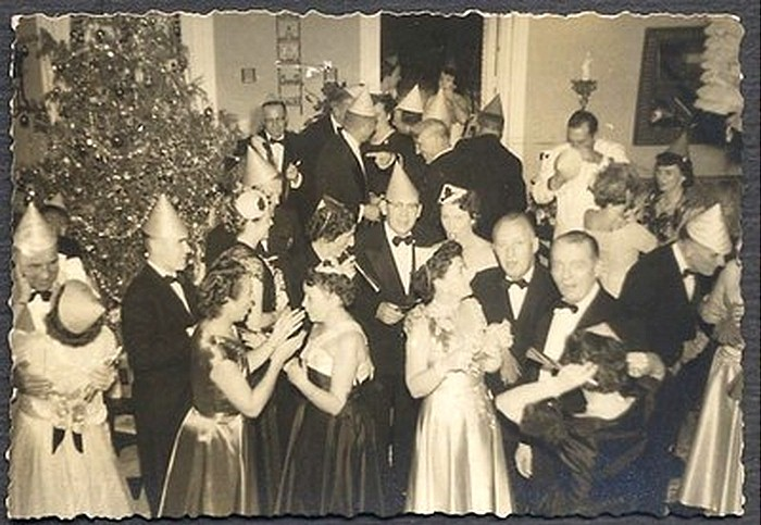 Image result for vintage new year celebration photos