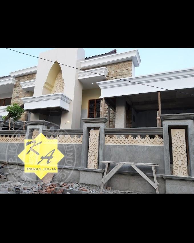 Variasi rumah dengan batu paras