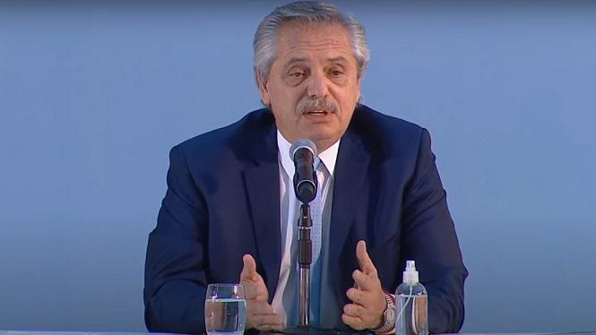 """Fernández: """"Argentina necesita que la inversión privada venga, desarrolle proyectos y dé trabajo"""""""