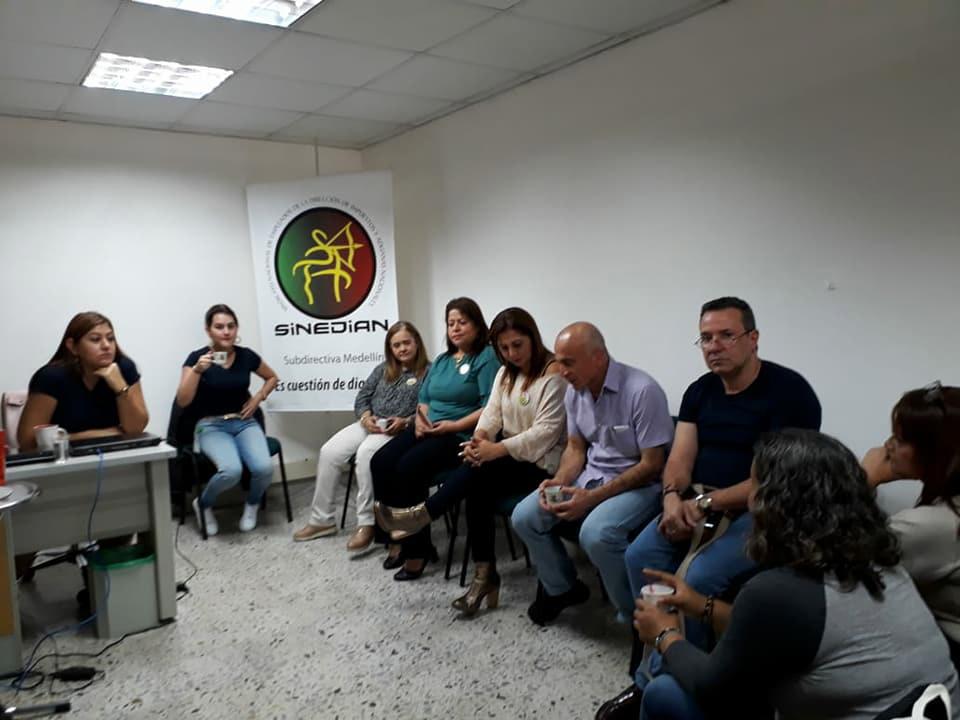 Sinedian Medellín se informa para defender los acuerdos estatales