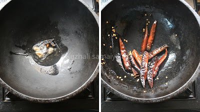 Coconut Podi recipe, Thengaai podi, how to make thangai podi, தேங்காய் பொடி , தேங்காய் மிளகாய் பொடி