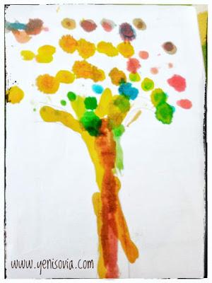 finger painting untuk anak usia 2 - 3 tahun