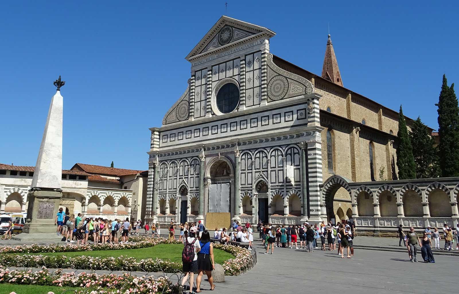 Voyage italie toscane Florence basilique santa maria novella