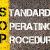 Training SOP Standard Operating Procedure