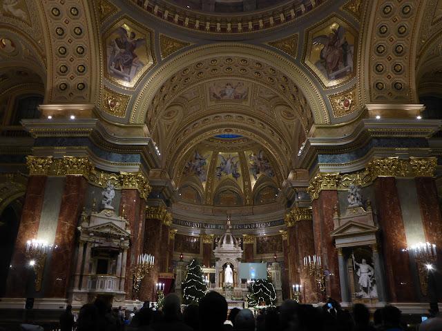 Basilique Saint-Etienne Budapest Hongrie