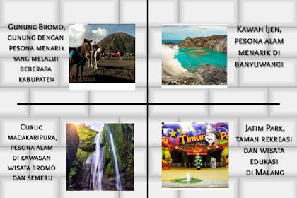 Daftar Tempat Wisata Di Jawa Timur Untuk Menghabiskan Liburan Anda