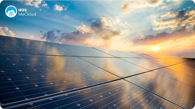 từ vựng tiếng Anh chủ đề môi trường - pin mặt trời