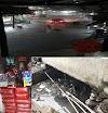 Hujan Deras..!! Bedeng Kaca Banjir