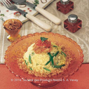 طريقة التحضير.................الأرز الأبيض على الطريقة العربيّة وصفات