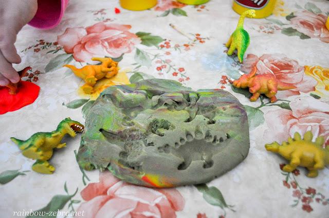 Отпечатки динозавров