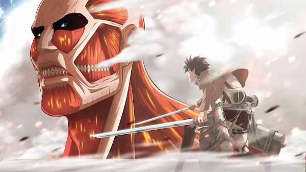wallpaper attack on titan