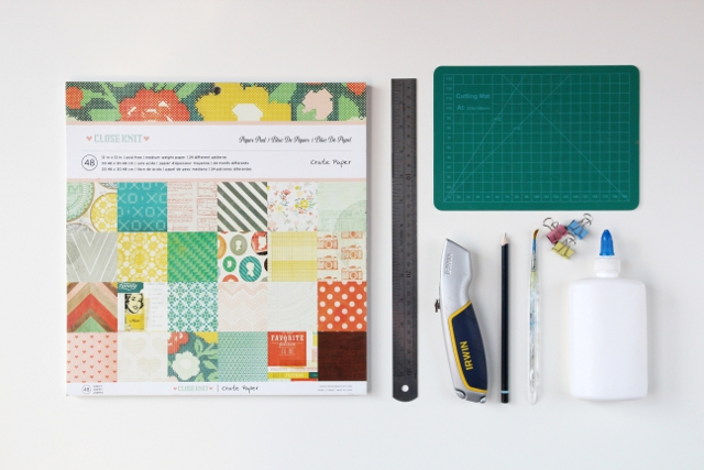 Things you'll need to make your own perfect bound notebook