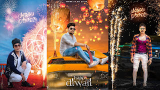 Diwali Photo Editing Background Download