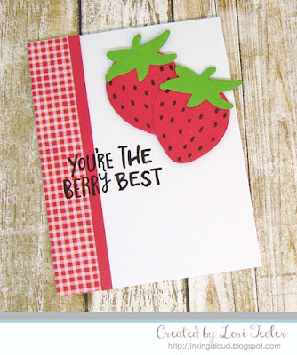 Berry Best card-designed by Lori Tecler/Inking Aloud-stamps and dies from Reverse Confetti