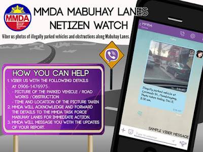 MMDA Netizenswatch Viber
