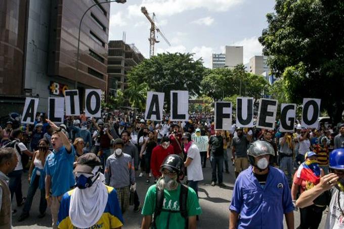 Muere otro joven por un disparo durante protesta en Venezuela; ya suman 58