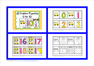 https://www.teacherspayteachers.com/Product/Back-To-School-10-Frame-Puzzles-1986881