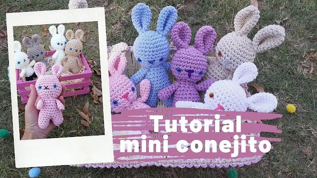 Tutorial Amigurumi Conejito a Crochet para Principiantes