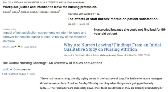global nursing shortage
