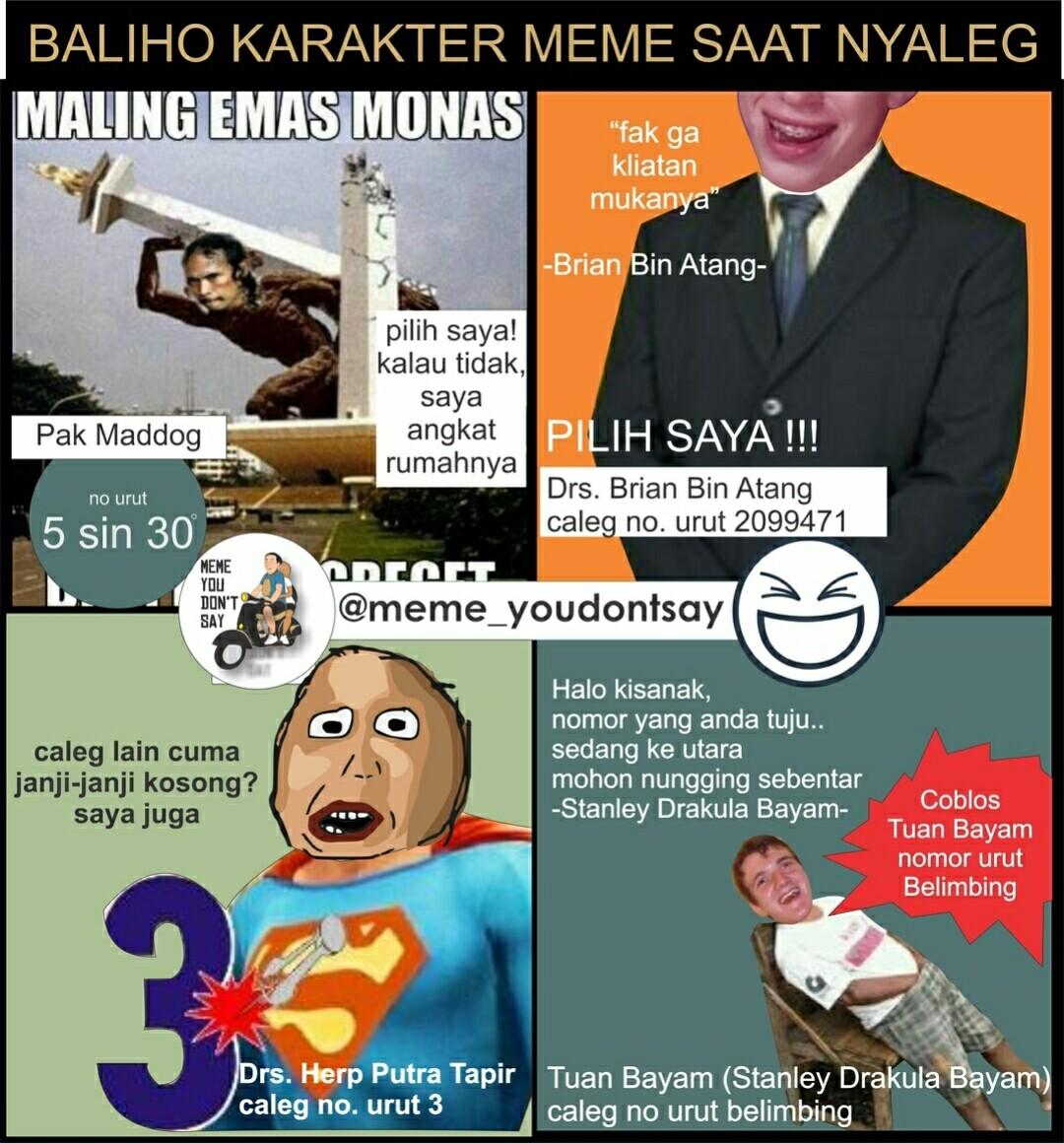 Koleksi Gambar Tokoh Meme Polosan  Gambar Meme