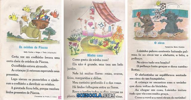 Confira nesta postagem pequenos textos ilustrados prontos para imprimir para trabalhar a leitura com os alunos.
