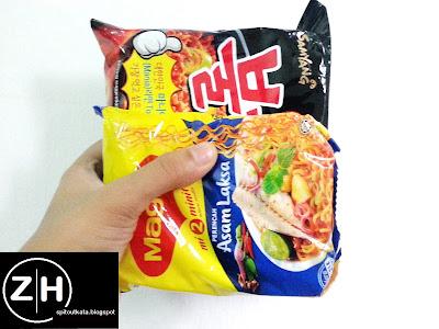 Samyang Korean Spicy Noodle Challenge
