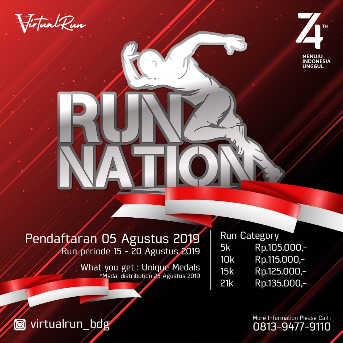 Run Nation - Virtual Run • 2019