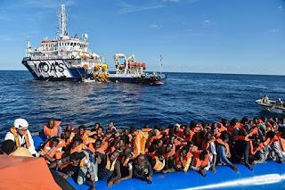 Беженцы из Ливии