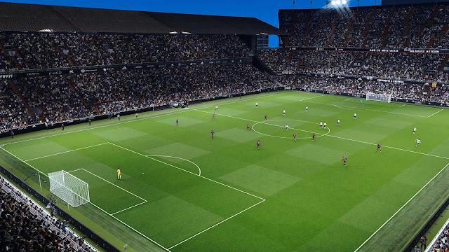 PES 2020 Estadio Mestalla by PeZedd