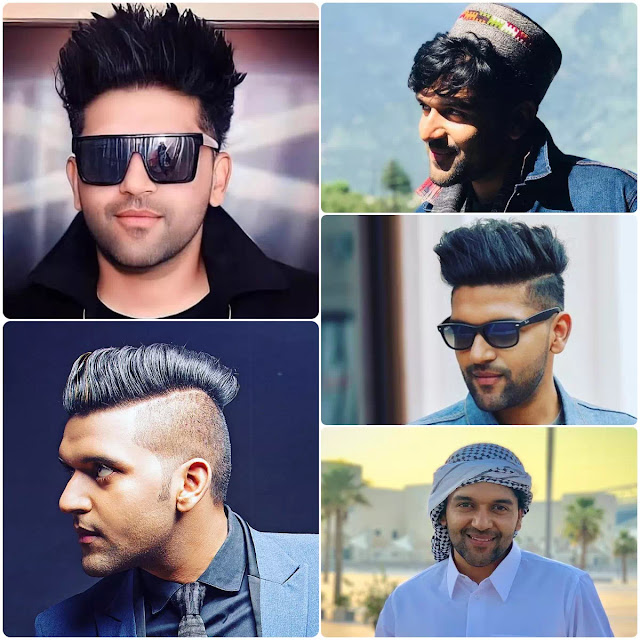 Guru Randhawa Hairstyles