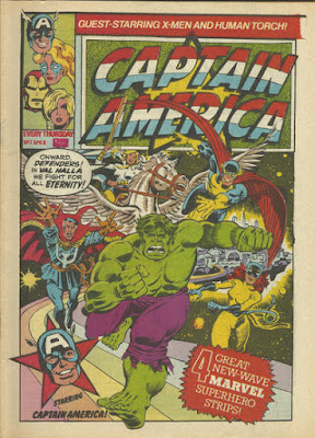 Captain America #7, the Defenders