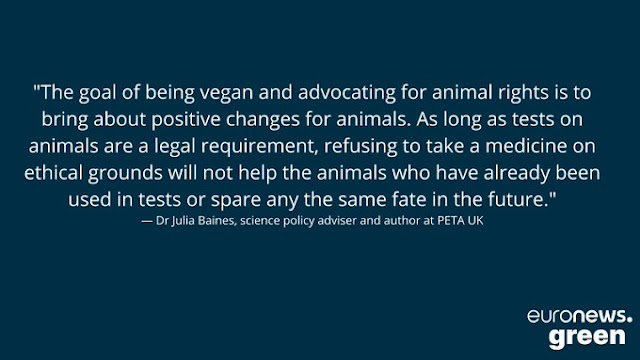 Dr Julia Baines of PETA says Get your jabs