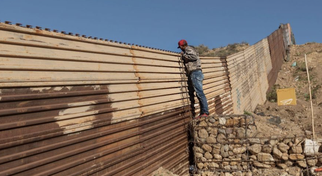 An incredible solution to building the border wall